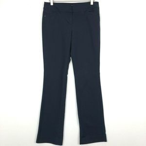 WHBM Perfect Form Contour Bootcut Stretch Pants 2R